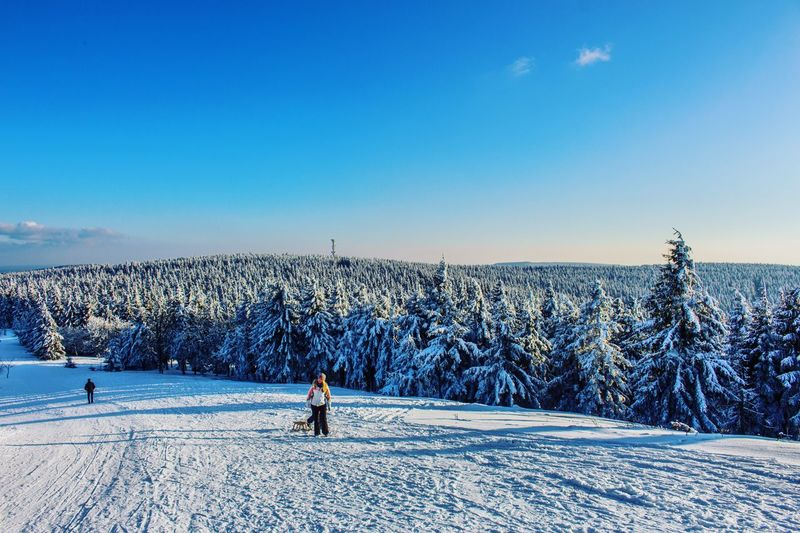 Last Winter Days | Oliver Hlavaty Photographie • © 2015-18 Oliverhlavatyphotographie Oliverhlavaty Thüringerwald Rennsteig Deutschland Germany Thuringia Thuringen Oberhof Snow Cold Temperature Winter Nature Blue Real People Sky Day Winter Sport Outdoors Vacations Beauty In Nature Leisure Activity Landscape Sport Scenics Large Group Of People Ski Holiday Frozen Clear Sky