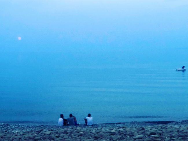 Tramonti, appunto... Water Real People Togetherness Leisure Activity Sea Nature Beauty In Nature Blue Group Of People Copy Space Land Women Beach Day Lifestyles Sky Men People Outdoors