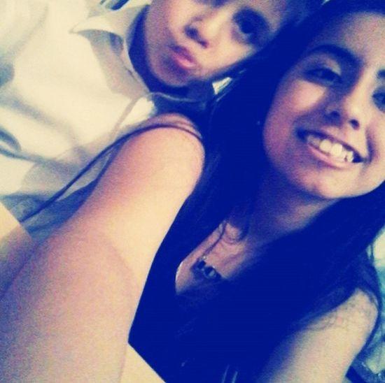 Benja and me ✌