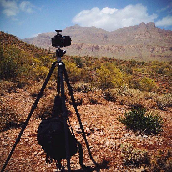 Arizona Nature Desert Beauty Clouds And Sky