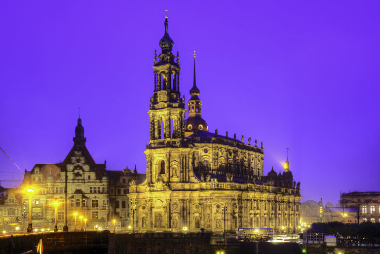 Night cityscape in the rain of Dresden, Saxony, Germany Architecture Blue Sky Built Structure Churches City Cityscapes Dresden Germany Katholischekirche Long Exposure Nightphotography Outdoors Rain Reflections Reflections In The Water River Sky Tourist Travel Destinations