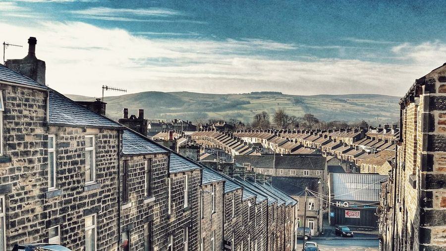 Town Outdoors Urban Skyline Huaweiphotography Streetphotography HuaweiP9 PhonePhotography Skipton