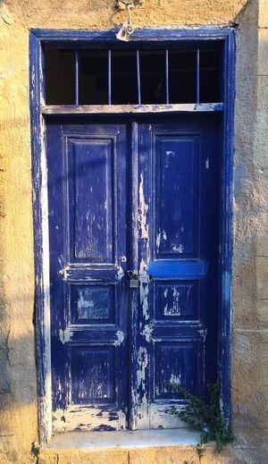 Blue door - Part I. Rhodes Greece B&Bs Grand Adventure Fun Summer Time  Door