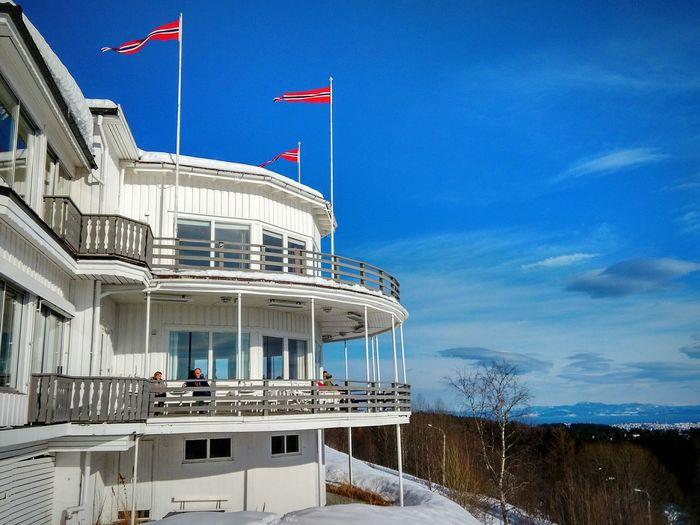 Restaurant Winter Snow ❄ Lian Restaurant Holidays Norway