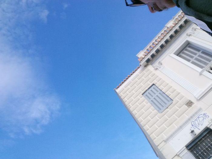 Atene Blue Blue Sky Built Structure City Clear Sky