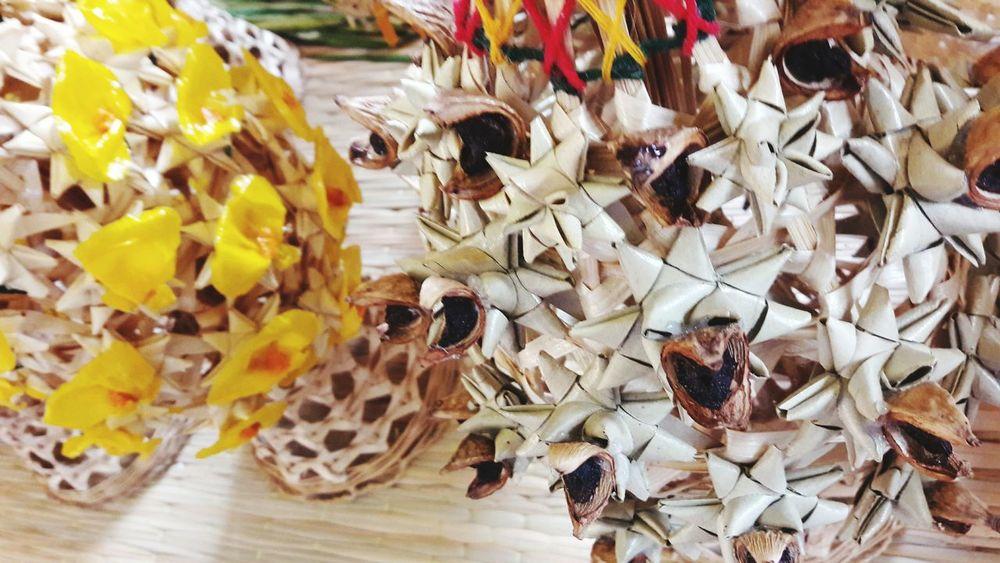 Handicraft3 Art. Chiangmai Thailand. Handicraft Art Chiangmai Thailand Art Bamboo Flowers Handmade