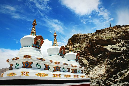 Outdoors Travel Destinations Travel Place Of Worship Religion Sky Day Pilgrimage No People Hanging Out Beautifully Organized Travel Destinations Outdoors Relaxation India Tourism Built Structure Ladakh Buddhism EyeEmNewHere The Architect - 2017 EyeEm Awards