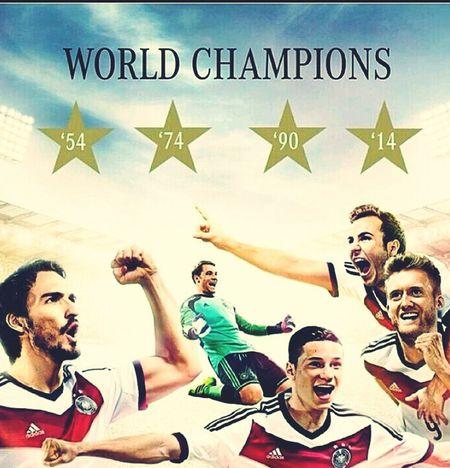 World Champion Germany The Winner Football Fans