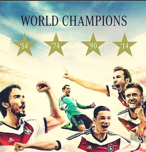 World Champion Germany The Winner Football Fans
