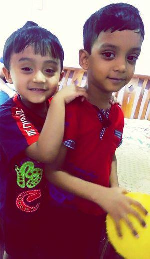 Nephew ♡ Sweet Boys Brotherhood Smiling Togetherness Friendship