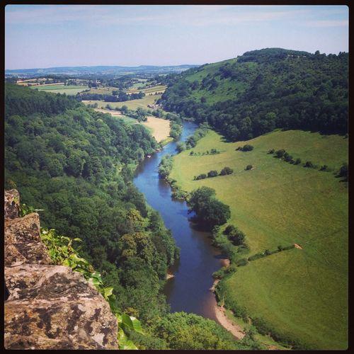 Rive Wye Nice Views Nature Enjoying The Sights River