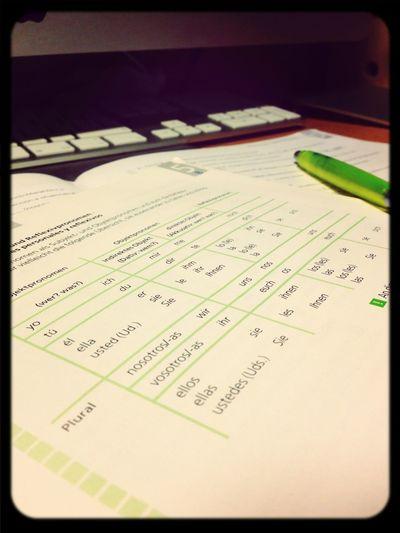 Verzweifelt Spanisch Lernen