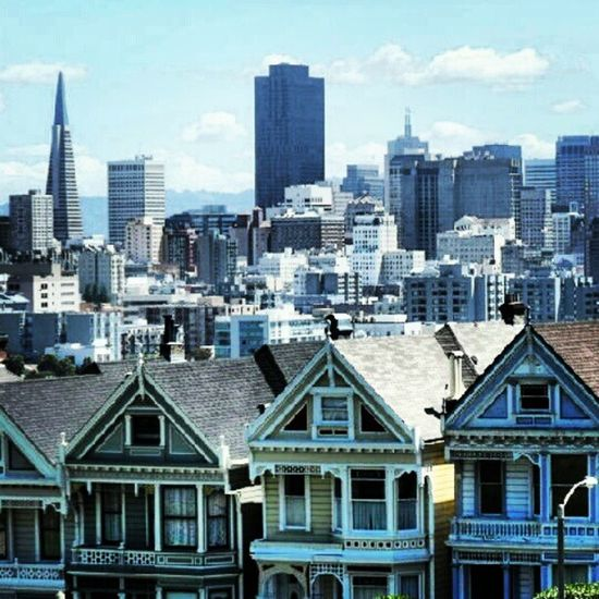 Sfo Sanfrancisco Paintedladies Instapic Picoftheday Photooftheday Instagram