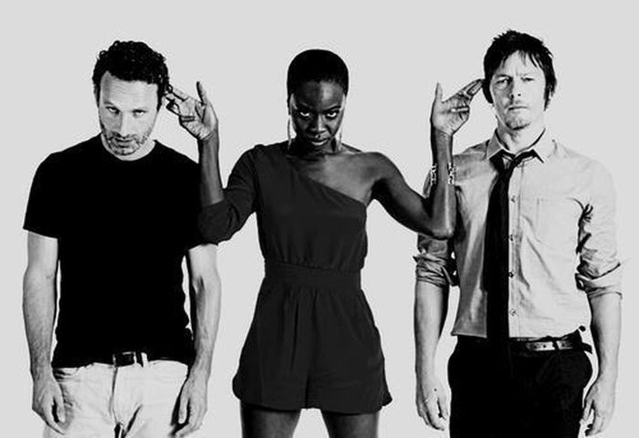Love them so much! The Walking Dead Norman Reedus Andrew Lincoln
