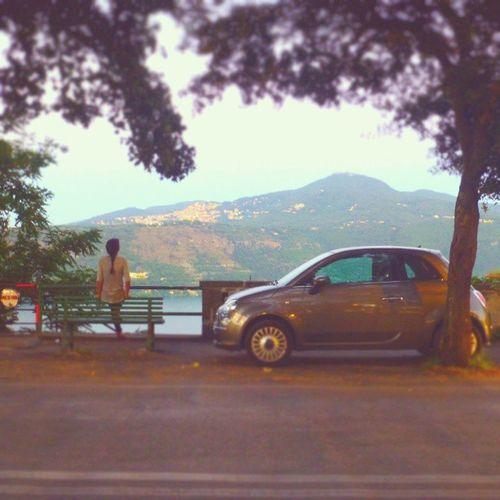 La dolce vita romana. Roma Romanhills Castelgandolfo Lakealbano lagoalbano lazio Italy instaitaly albanhills romanhills spectacular nature stunning lake water panoramicviews