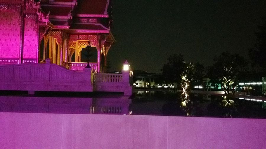 Pink Night, Hanging Out Urban Sculpture Silhouettes Of A City Thailand_allshots EyeEm Thailand .