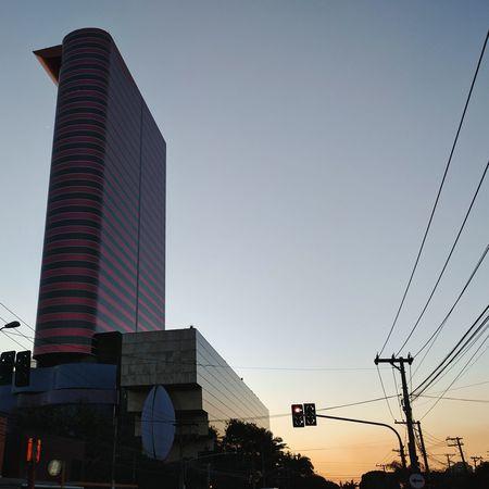 Sunset Citylights Skyscraper Saopaulo First Eyeem Photo