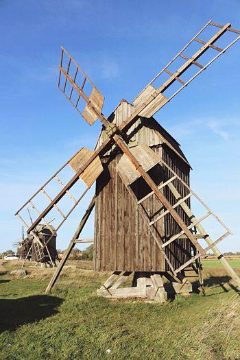 Öland Öland Island Sweden Nature Windmill Summer