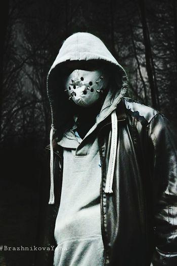 Evil Dark Mask Night Forest Night