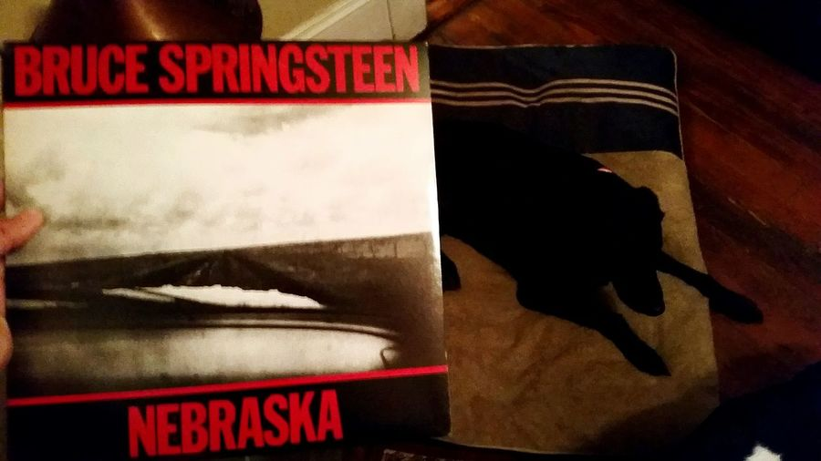 Red No People Backgrounds Viva La Vinyl Bruce Springsteen Nebraska