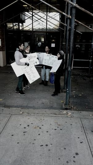 Student Activists Your Photo For Social Change By PhotoPhilanthropy Boycott Student Rights Newark