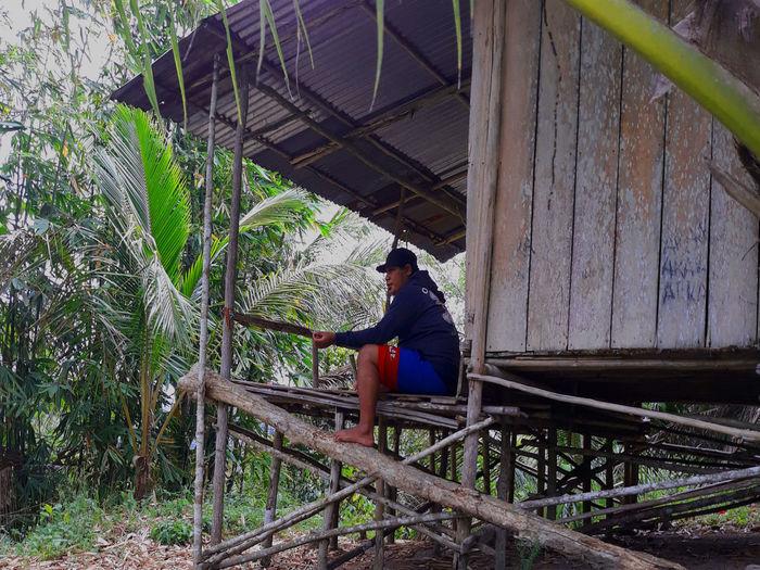 Garden house of