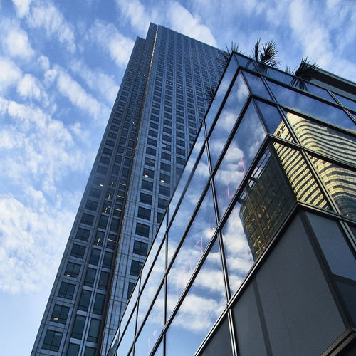 More portfolios and info @ www.costangelo.com COSTANGELOP on Facebook or Instagram Architecture Blue Building Exterior Built Structure Canary Wharf City Cloud - Sky Clouds Day Finance Glass London Low Angle View Nature No People Outdoors Plant Power Reflection Repetition Sky Skyscraper Street Urban Windows
