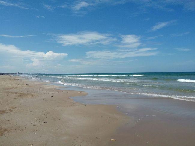 Playa Miramar Beach Beauty In Nature Summer Sky Water No People Madero Tampico 🇲🇽