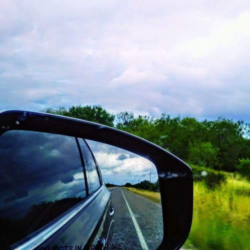 Love My Friends!(: On Eyeem . Car Transportation Water Reflection Road Cloud - Sky Mode Of Transport No People Driving Land Vehicle Road Trip Tree Sky Outdoors Day City Nature The Great Outdoors - 2017 EyeEm Awards