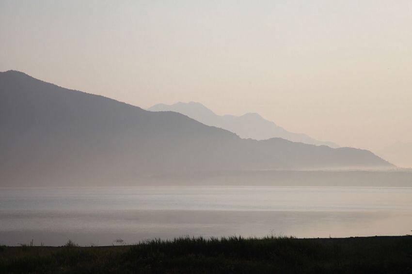 Mountain lake in early morning mist. EyeEm Nature Lover ISOPIX Landscape Fog