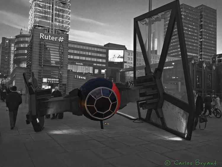 Tie Starwars Oslo Norway Scandinavia Tiefighter