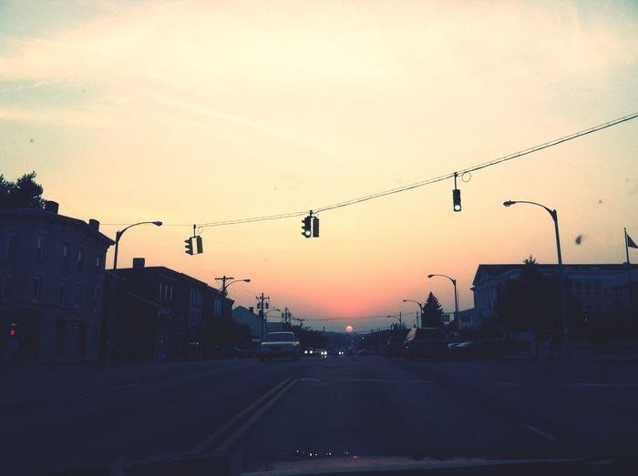Sunset Newburgh