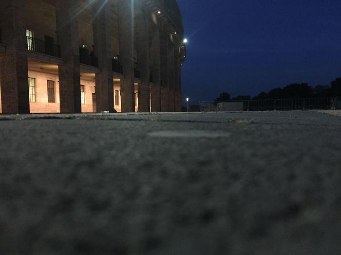Olympiastadion Berlin No People Nightphotography Berlin