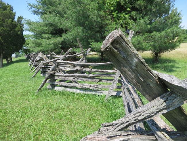 Harpers Ferry Split Rail Fence West Virginia Scenery Zig Zag