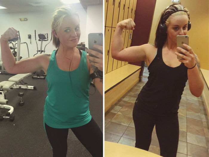 With Hard Work Come Good Results .! Fitmom
