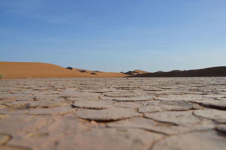 Sahara ground Desert Dry Drying Landscape Morroco Outdoors Sahara Sand Sandwiches Scenics Travel