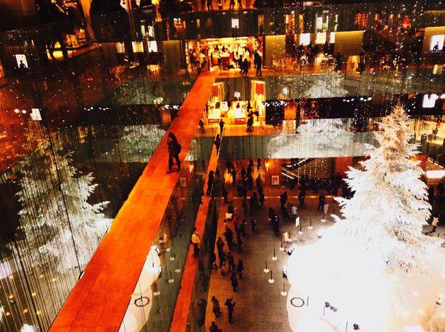 分身の術 Christmas Tree Merry Christmas! Happy Cristmas Snapshot Lights And People Snapshots Snap Enjoying Life IPod Touch
