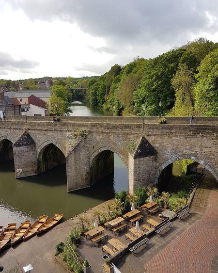 Bridge over river in uk