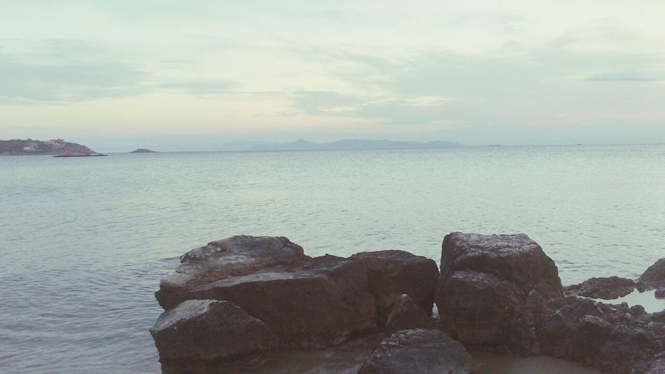 Sea Sea And Rocks Rocks Seaside