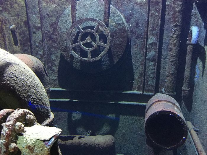 sunken Submarine Rusty No People Day Outdoors Close-up