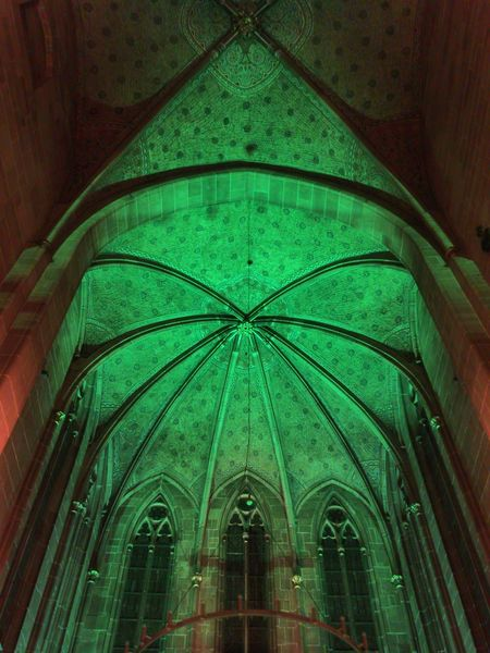 Marienkirche Reutlingen Kirchenschiff Orgelkonzert Architecture_collection Church Parallel Lines Check This Out Medieval Architecture Light And Shadow Colorful Lights