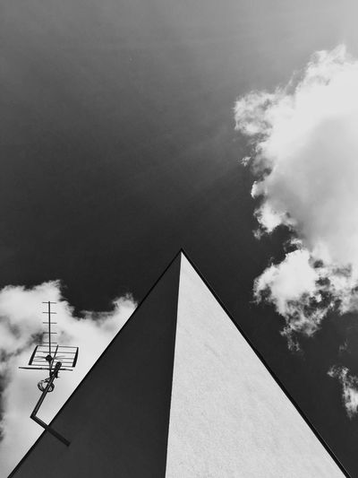 Deep Observer's Lab (or A Local Cloudbuster) Gdynia 24 May 2015 IPhoneography Iphone 6 Plus Abstract EyeEm Best Shots EyeEm Best Edits IPSShadows Bnw_collection Architecture Creative The Architect - 2015 EyeEm Awards
