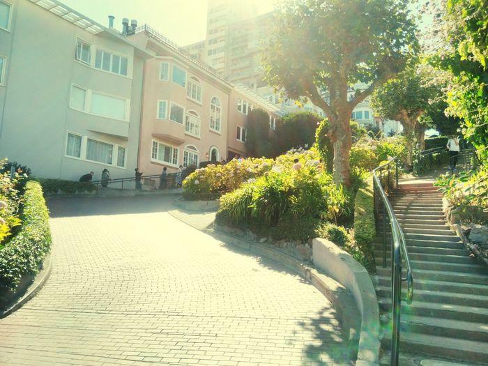 Lombard Street Crooked Street