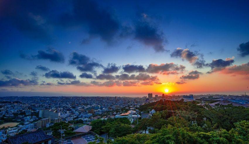 Naha-shi Shuri Sunset ShuriCastle Nikonphotographer Japenesestyle Nikonphotography Naha City Hello World EyeEm China City Life NIKOND3x