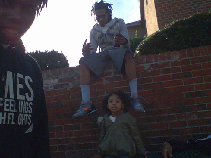 at the playground n shyt