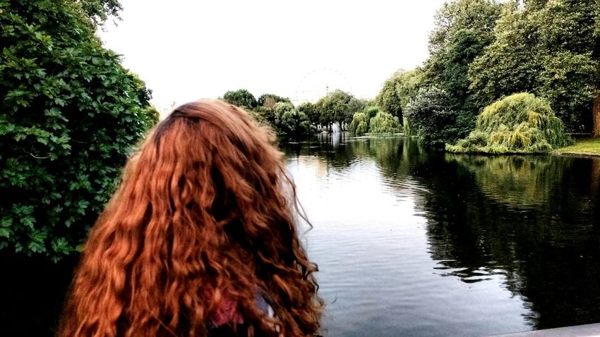 Tree Water Nature One Young Woman Only One Woman Only Young Women Young Adult Outdoors One Person Day People Adult Scenics Beauty In Nature Nature Tranquility Travel Destinations City TOWNSCAPE Travel Cityscape Park Tree London
