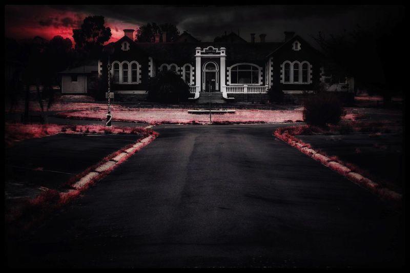 Haunted Hospital Haunted Abandoned King - Royal Person City History Historic Run-down Damaged Bad Condition Weathered