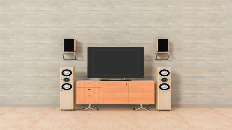 Modern home theater Built Structure Day Hardwood Floor Home Theater Indoors  Music No People Recording Studio Sound Recording Equipment Speaker Stereo Technology The Media Wood - Material