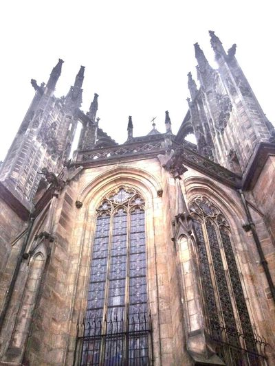Cloud - Sky Day Travels Old Town Prague Czech Republic Vaclav Travelling Photography Low Angle View Catholic Cathedral Travelingtheworld  Cold Weather No People Outdoors