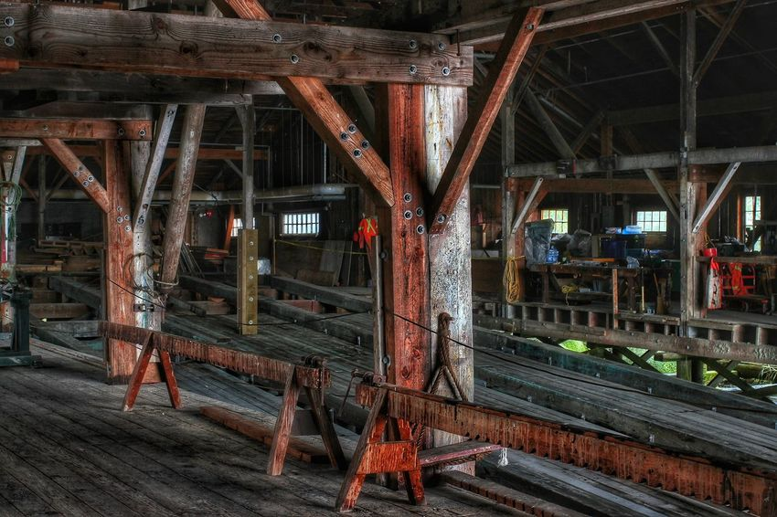 wooden structure Woodenstructure Photography Interior 20th Century Architecture Historical Building